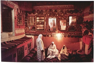 Room in a Ghadamsi house (Plate 1). © AM Yedder.