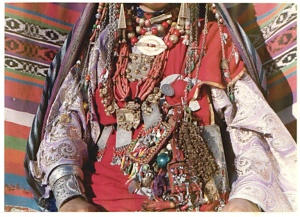 Ghadamsi wedding jewelry (Plate 30). © AM Yedder.